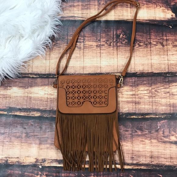 f1c135aee0 Bags | Fringe Tassel Crossbody Purse Bag | Poshmark